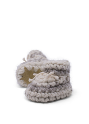 Baby and Child Wool Slippers  -Go Green Baby