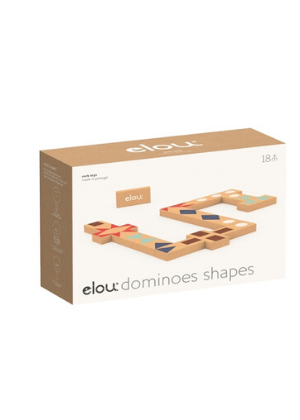 Elou Cork Domino Shapes  -Go Green Baby