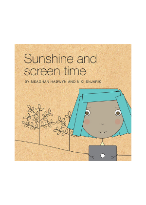 Sunshine and Screen Time  -Go Green Baby