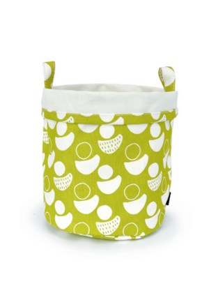 Canvas Bucket  -Go Green Baby