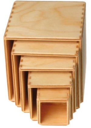Grimm's Small Stacking Boxes