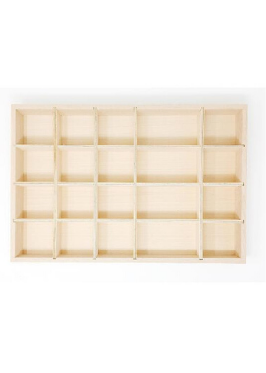 Wooden Tinker Tray for Sorting  -Go Green Baby
