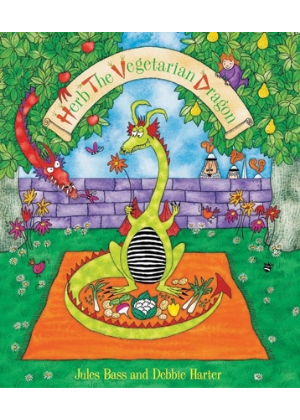 Herb the Vegetarian Dragon  -Go Green Baby