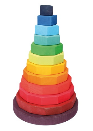 Grimm's Geometrical Stacking Tower Extra Large
