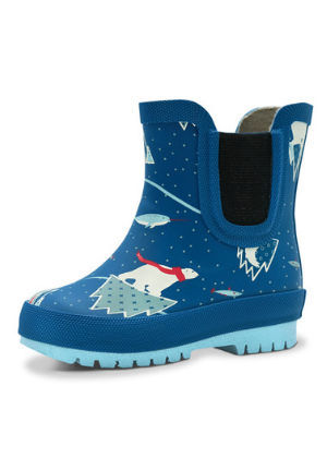 Jan & Jul Puddle-Dry Rain Boots - Arctic