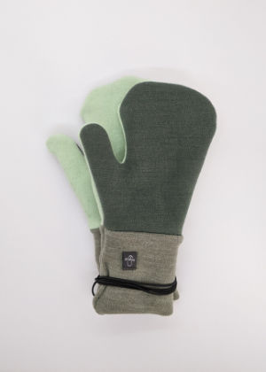 Wool Mitts - Youth  -Go Green Baby