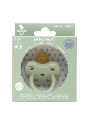 Hevea Orthodontic Pacifier - 3-36 Months  -Go Green Baby