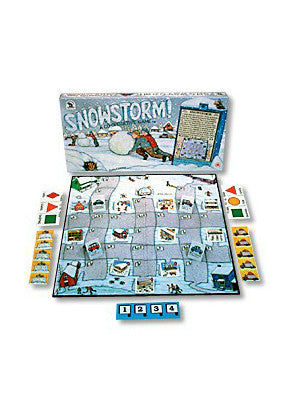 Snowstorm Cooperative Game  -Go Green Baby