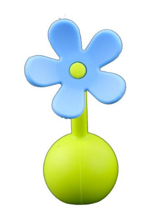 Silicone Breast Pump Flower Stopper  -Go Green Baby