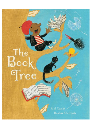 The Book Tree  -Go Green Baby