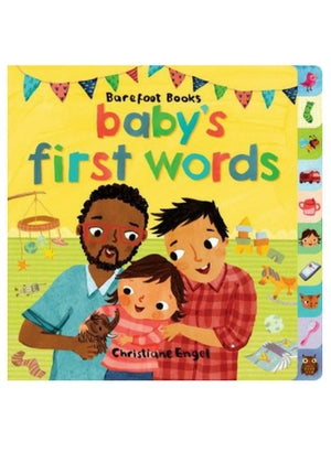 Baby's First Words Board Book  -Go Green Baby