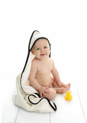Classic Hooded Towel  -Go Green Baby