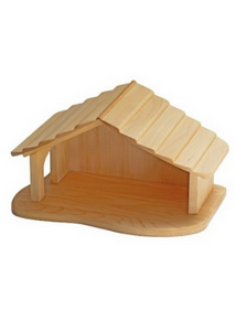 Wooden Stable  -Go Green Baby