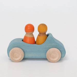 Convertible Wooden Car