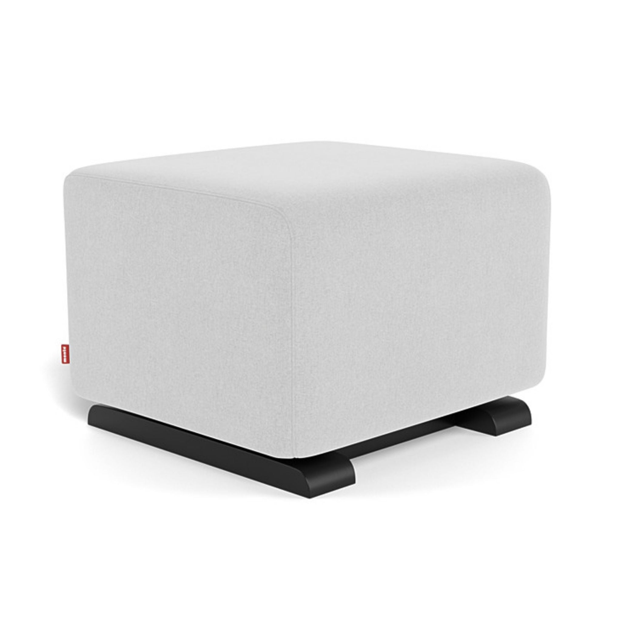 monte como ottoman ash light grey espresso base