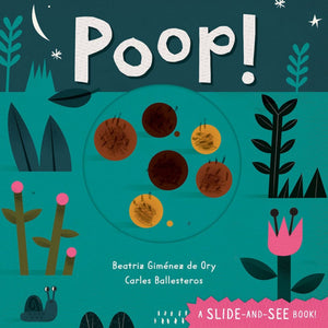 poop! book cover slide and see book