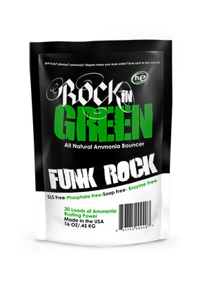 Rockin Green Funk Rock Ammonia Bouncer