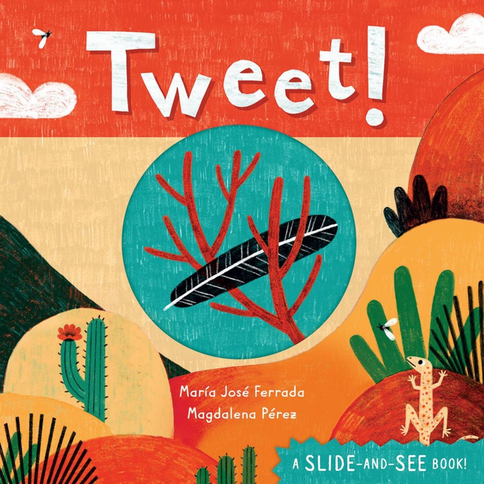 tweet book cover by ferrada and perez slide and see book