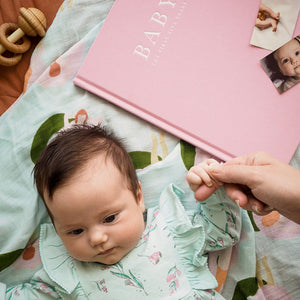Baby Journal - The First Five Years  -Go Green Baby