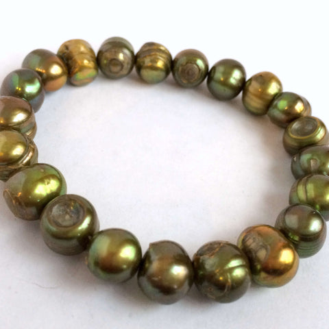 Large Natural Pearls Bracelet