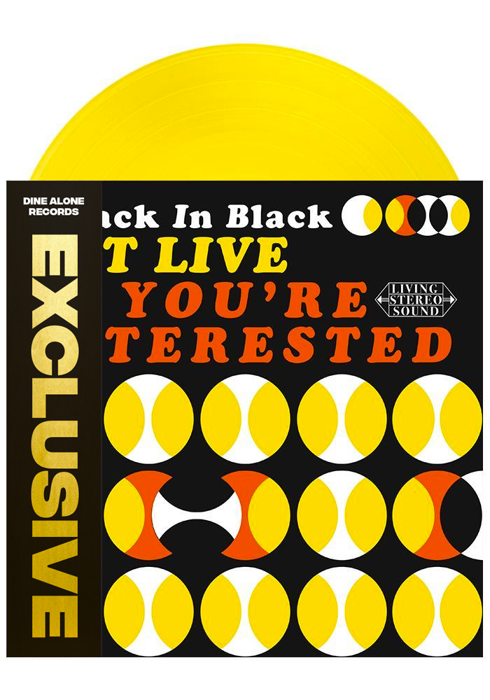Attack in Black - Got Live: If You're Interested (Yellow LP)