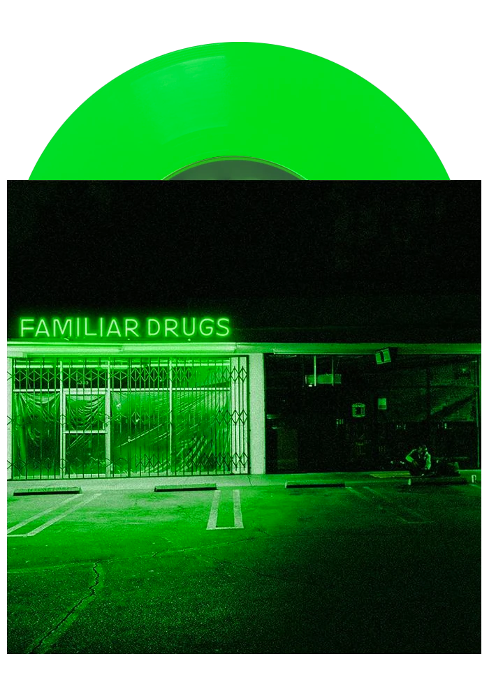 "Alexisonfire - Familiar Drugs (Neon Green 7"")"