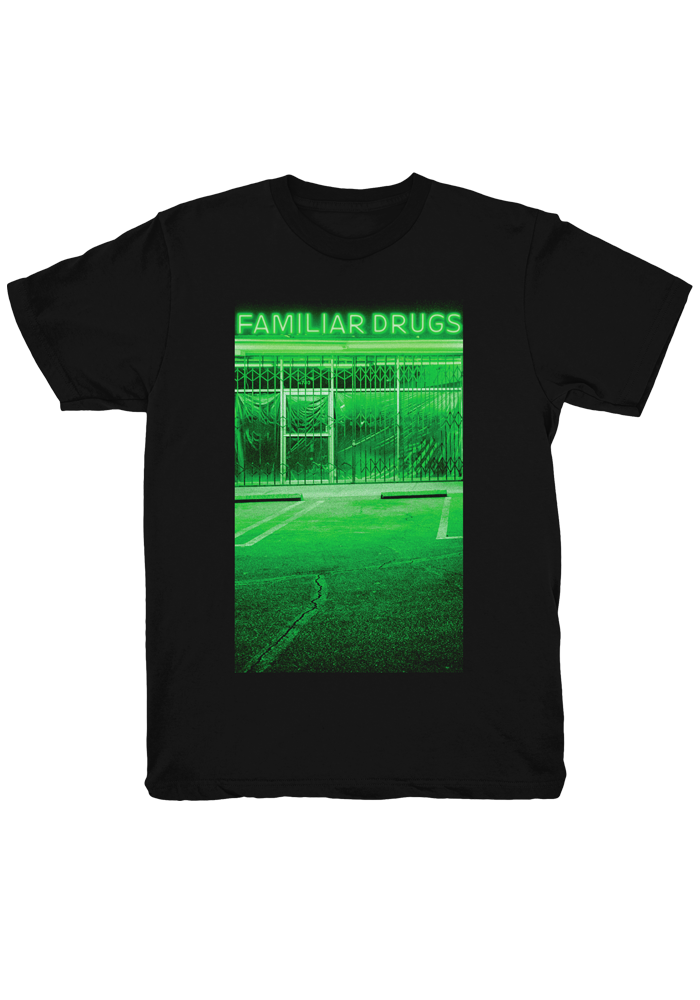 Familiar Drugs T-Shirt-Alexisonfire-Dine Alone Records