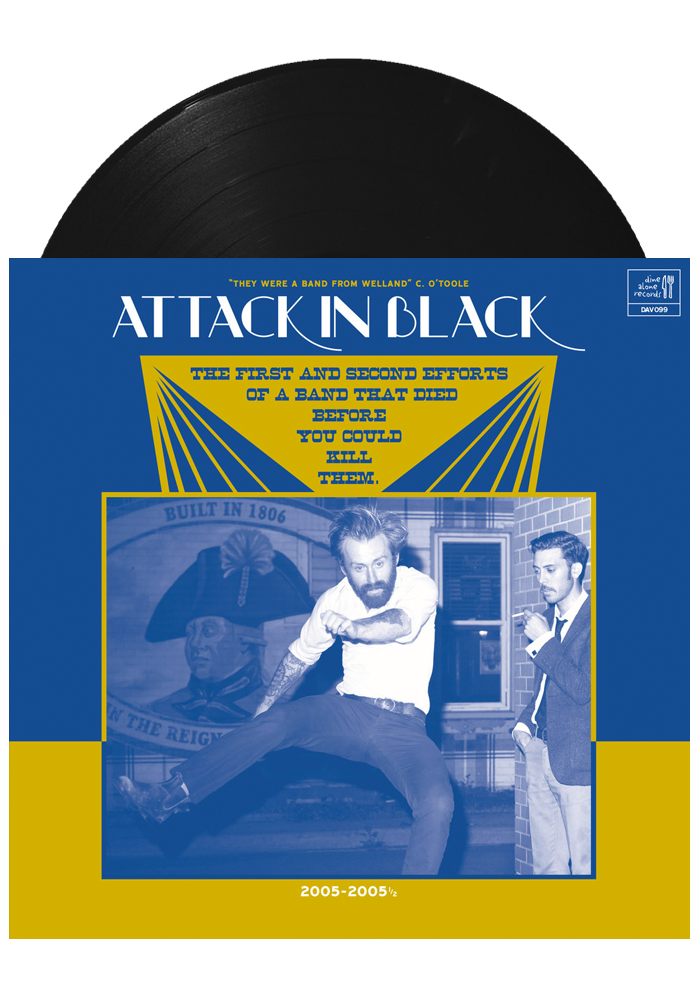The First And Second Efforts... (LP)-Attack in Black-Dine Alone Records
