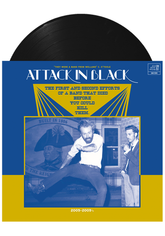 Attack in Black - The First And Second Efforts... (LP)