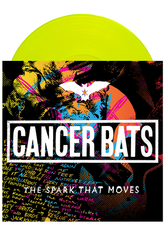 Cancer Bats - The Spark That Moves (Highlighter Yellow LP)