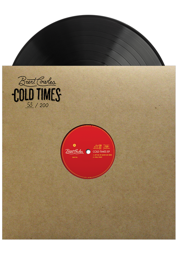 Cold Times EP (Limited LP)-Brent Cowles-Dine Alone Records