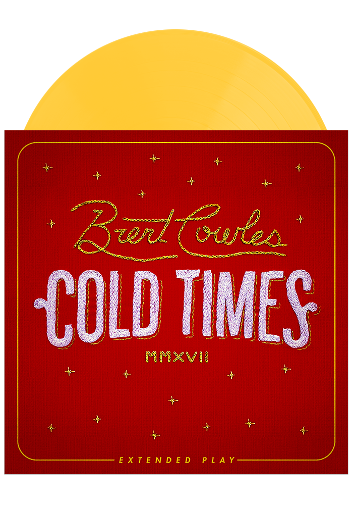 Cold Times EP (Yellow LP)-Brent Cowles-Dine Alone Records