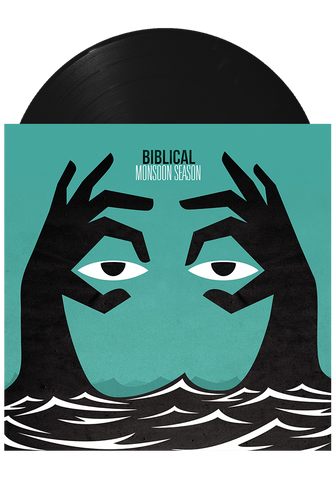 BIBLICAL - Monsoon Season (Black LP) - New Damage Records