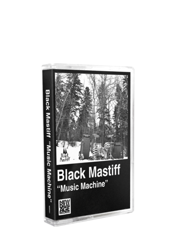 BLACK MASTIFF - Music Machine (Tape) - New Damage Records