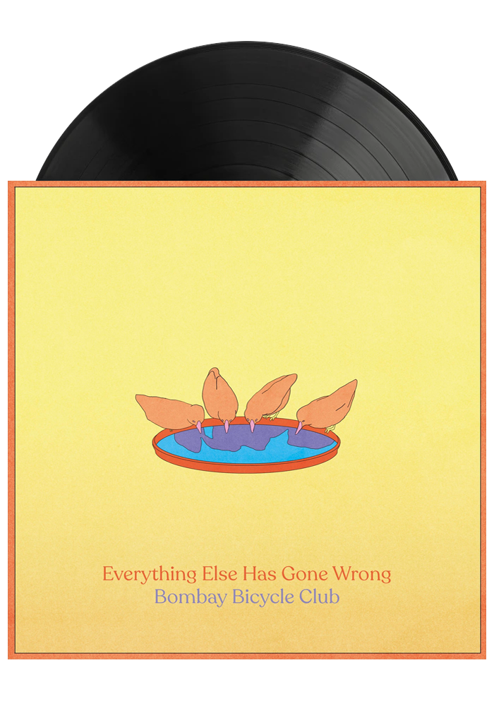 Bombay Bicycle Club ‎– Everything Else Has Gone Wrong (LP)