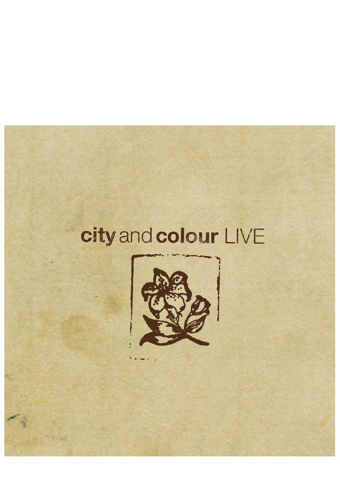 Live (CD/DVD)-City and Colour-Dine Alone Records
