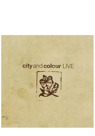 City and Colour - Live (CD/DVD)