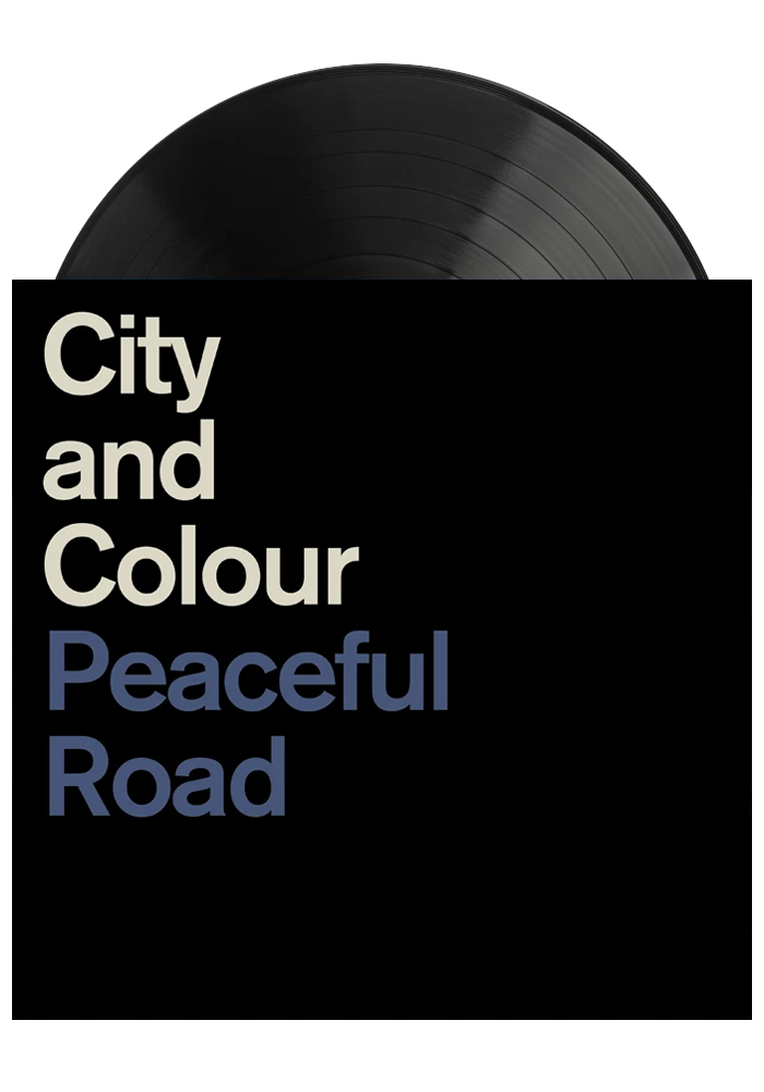 Peaceful Road / Rain (EP)-City and Colour-Dine Alone Records