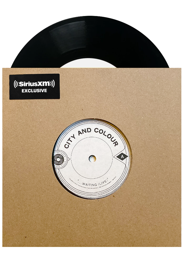 "City and Colour - ...Waiting (Live) / If I Should Go Before You Live (Live) (Lathe Cut 7"")"