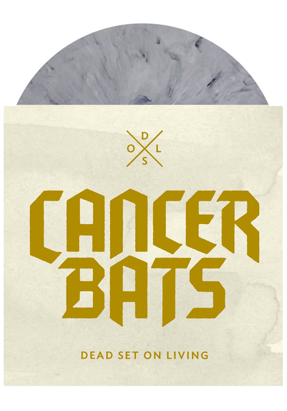 Cancer Bats - Dead Set on Living (Grey LP)