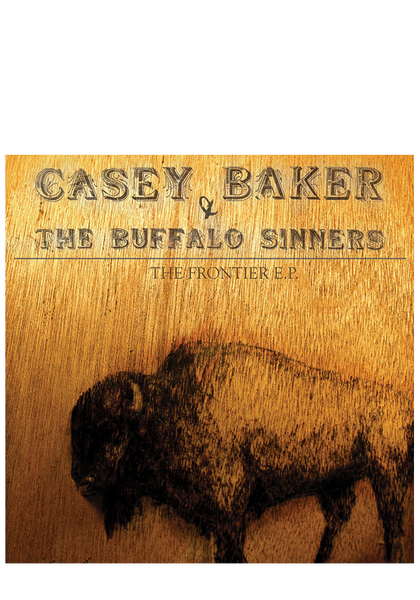 Casey Baker - The Frontier EP (CD)