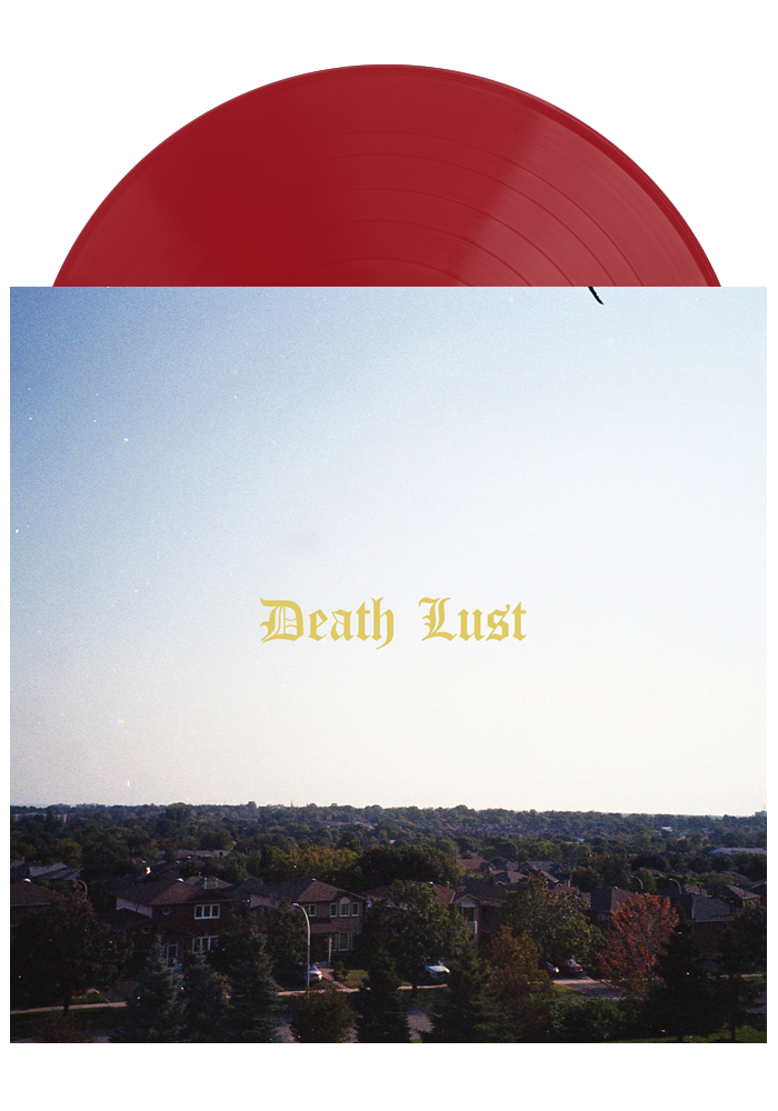 Chastity - Death Lust (Translucent Red LP)