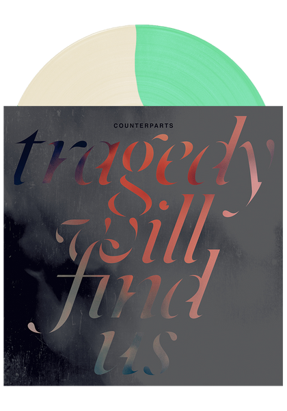 COUNTERPARTS - Tragedy Will Find Us (Cream/Double Mint LP)