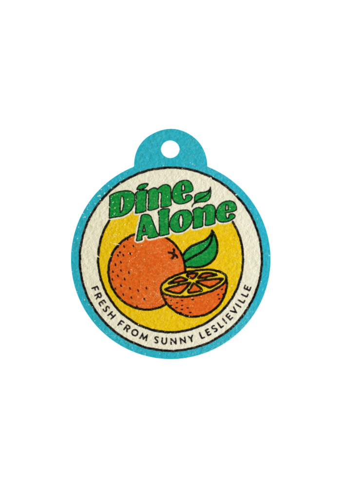 Dine Alone - Fresh From Sunny Leslieville (Air Freshener)