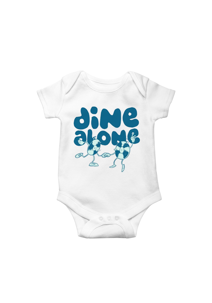 Dine Alone - Dancing Records Baby Onesie