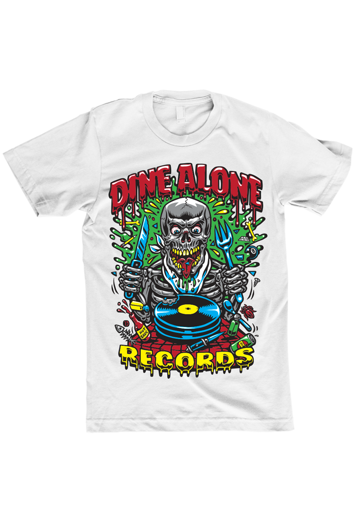 Dine Alone - Jimbo T-Shirt (White)