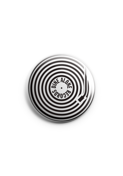 "Dine Alone - Record 1"" Button"