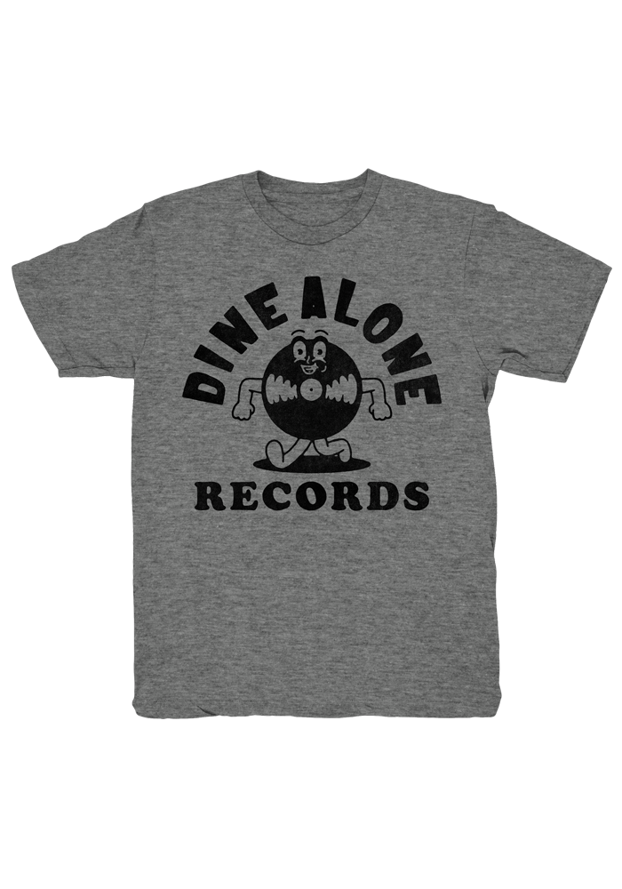 Dine Alone - Record T-Shirt