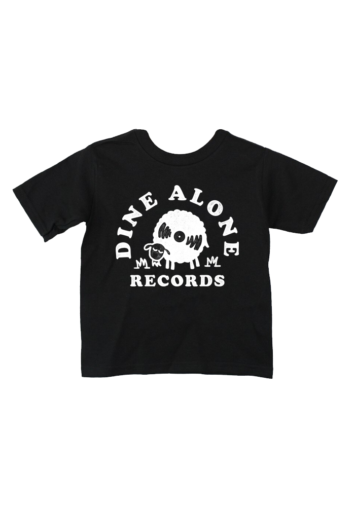 Dine Alone - Sheep Youth T-Shirt (Black)