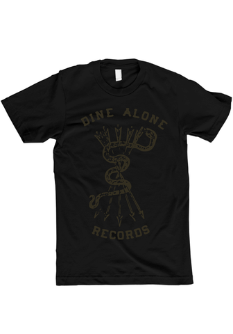 Dine Alone - Snake T-Shirt (Black)